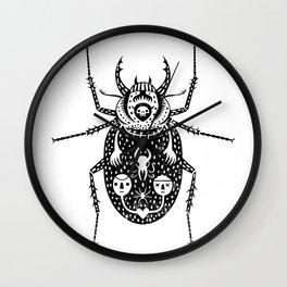 Diaboli Scarabæus - The Devil's Beetle Wall Clock