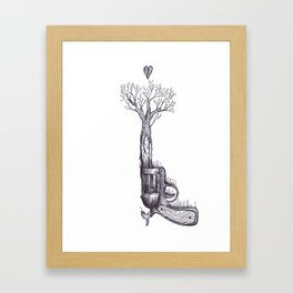 The Only Weapon I Will Ever Fire Framed Art Print