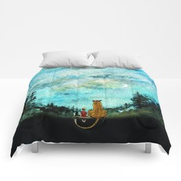 Calvin And Hobbes Comforters