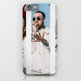 American Rapper Mac Miller Canvas  Collage Images Malcolm James  Printed Picture Wall Art Decoration POSTER or CANVAS READY iPhone Case