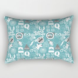 Discreet Fandoms Rectangular Pillow