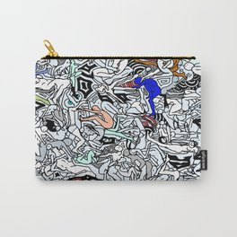 Retro Kamasutra LOVE Doodle  Carry-All Pouch
