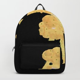 Butter, popcorn, daisy corn poodle yellow Backpack