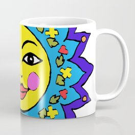 Mayan Sunshine Girl by Amanda Martinson Coffee Mug
