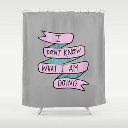 IDK Shower Curtain