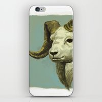 ram iPhone & iPod Skins featuring Ram by Merz