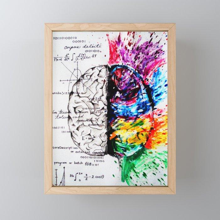 Conjoined Dichotomy Framed Mini Art Print