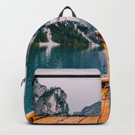 Canoe Mountains (Color) Backpack