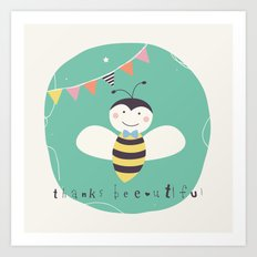 Boris Bee Art Print