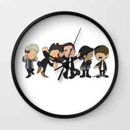 Schulz Dancing 1D Wall Clock