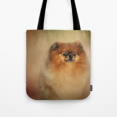 Proud Pomeranian Tote Bag
