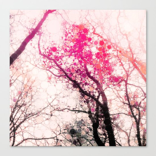 Tree Silhouette 2 Canvas Print