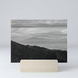 Hazy Ridge Mini Art Print