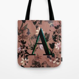Autumn flowers in the garden Tote Bag