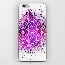 Flower Of Life Sacred Geometry iPhone Skin