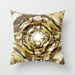 In Hadron Collider. Throw Pillow