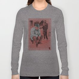"Fellini ""red"" Long Sleeve T-shirt"