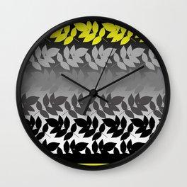 Hombre Leaf Wall Clock
