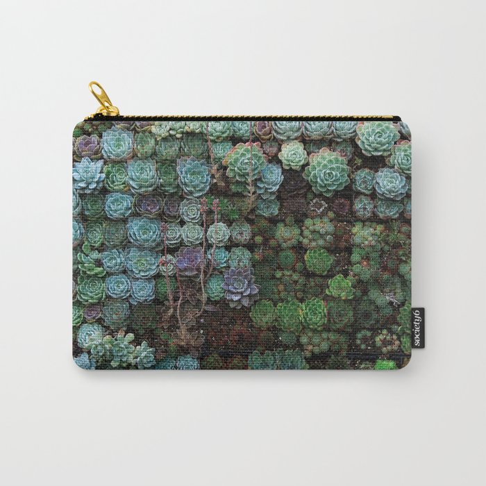 Field of Succulents Carry-All Pouch