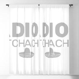 Adios Bitchachos Blackout Curtain