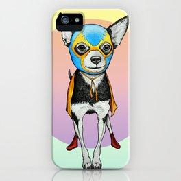 Chihuahua - Luchador  iPhone Case