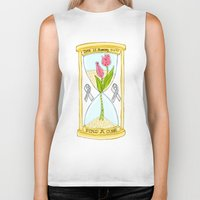 the cure Biker Tanks featuring Parkinson's Find a Cure by J&C Creations