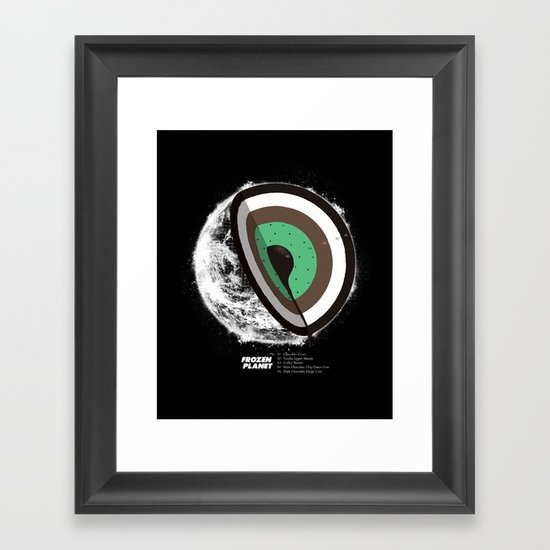 Frozen Planet Framed Art Print