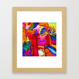 Wassily Kandinsky Improvisation V Framed Art Print