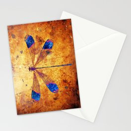 Dragonfly in Amber Stationery Cards