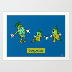 Surprise!! Art Print