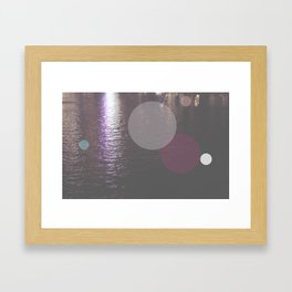 Dots//Twelve Framed Art Print