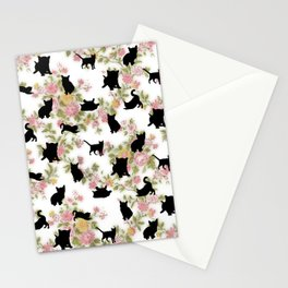Kittens Floral Stationery Cards