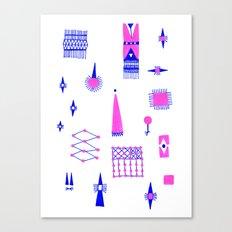 Pompoko Canvas Print
