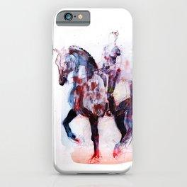 Horse (Dressage rider) iPhone Case