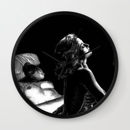 asc 939 - L'amante romaine (Peace and seclusion)  Wall Clock
