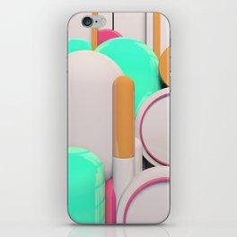Capsules iPhone Skin