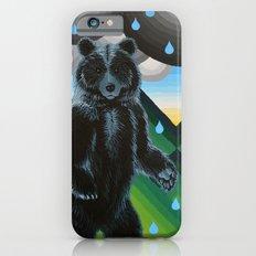 Geometric Black Bear Slim Case iPhone 6s