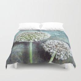 Allium Flowers Duvet Cover