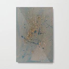 Sparkling Metal Print