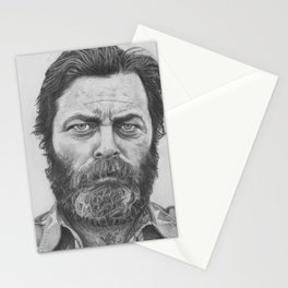 Nick Offerman Stationery Cards