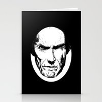 clint eastwood Stationery Cards featuring Clint Eastwood by Zombie Rust