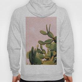 Cactus on Pink Sky Hoody