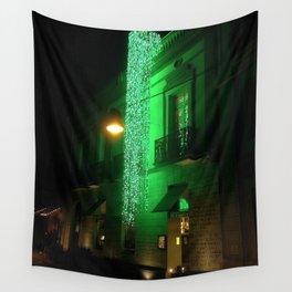 Green Cascade Wall Tapestry