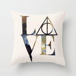 Love Always Watercolor Throw Pillow