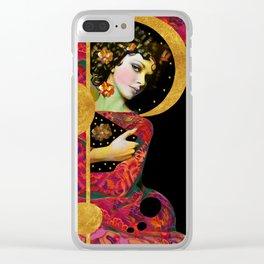 """""""Modern Pop Dream"""" Clear iPhone Case"""