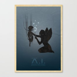 Steven Spielberg's A.I. Canvas Print