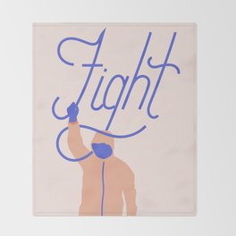Fight Throw Blanket