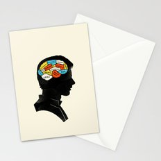 Han Phrenology Stationery Cards