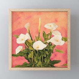 Monterey Calla Lilies Framed Mini Art Print