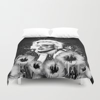 wonderland Duvet Covers featuring Wonderland by Kristy Patterson Design